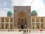 Madrasah Mir-i Arab. Ensemble Poï-Kalan.Boukhara, Ouzbékistan