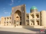 Madraza Mir-i Arab. Conjunto Poi-Kalan. Bujará, Uzbekistán