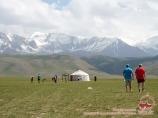 В гостях у местных жителей. Кыргызская юрта