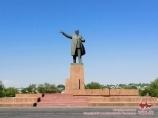 Памятник Ленину в Оше. Кыргызстан