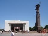 Государственный исторический музей, Бишкек. Кыргызстан