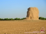 Buddhist Stupa Zurmala. Termez, Uzbekistan
