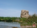 Mortier de Bouddha-Zourmala. Ouzbékistan, Termez