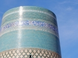 Minarete Kalta-Minor. Uzbekistán, Jiva