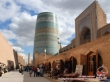 Médersa de Moukhammad Amin-Khan. Ouzbékistan, Khiva