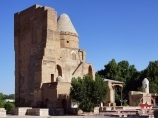 Memorial сomplex Dorus-Saodat. Shakhrisabz, Uzbekistan