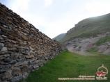 El caravansaray «Tash-Rabat». Сañón-desfiladero Kara-Koyun (la provincia de Naryn), Kirguizstán
