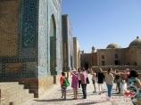 Комплекс Шахи-Зинда (XIV в.). Самарканд, Узбекистан