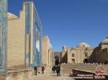 Complejo arquitectónico Shakhi-Zinda (s.XIV). Samarcanda, Uzbekistán