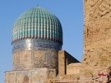 Мечеть Биби Ханым (внутренний двор). Самарканд, Узбекистан