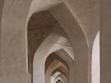 Courtyard gallery of Kalyan Mosque (XV c.). Po-i-Kalyan Complex. Bukhara, Uzbekistan