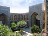 Médersa d'Ulughbek (XIV s.). Samarkand, Ouzbékistan