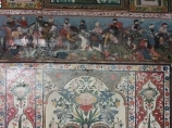 Interior decoration of the palace of Sheki Khans. Sheki, Azerbaijan