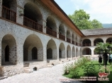 Caravanserai. Shaki, Azerbaijan