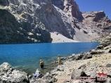 Озеро Большое Алло. Фанские горы