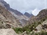 Низовья реки Зиндон. Фанские горы