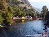Река Чапдара. Фанские горы