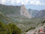 Вид с перевала Чукурак. Фанские горы