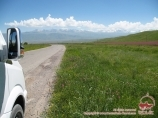 Suusamyr valley. Kyrgyzstan