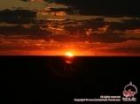 Закат на Аральском море. Узбекистан