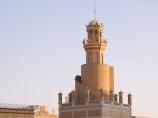 Минарет в Кашгаре вблизи мечети Ид Ках