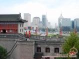 Modern buildings. Xian, China
