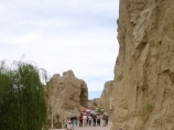 Jiaohe Ancient City in Turfan along the Silk Road