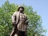 Monument Alymbek Datca. Osh, Kyrgyzstan