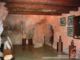 Museum inside Mount Suleiman. Osh, Kyrgyzstan