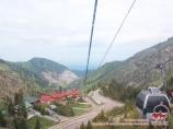 Koktobe hill. Almaty, Kazakhstan