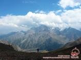 Перевал Урям (3760 м). Баткенский район, Кыргызстан