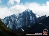 Пик Пирамидальный (5509 м). Баткенский район, Кыргызстан