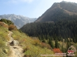 National Park Ala-Archa. Kyrgyzstan