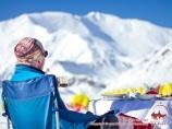 The base camp of Lenin Peak (3600 m). Pamir, Kyrgyzstan