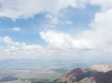 La cresta del pico Petrovskiy. Pamir, Kirguistán
