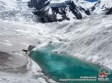 Glaciar Lenin. Pamir, Kirguistán