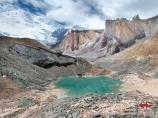 Glacier Lénine. Pamir, Kirghizstan