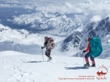 Razdelnaya Peak (6148 m). Pamir, Kyrgyzstan