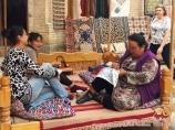 Вышивальщицы. Музей ковров, Хива, Узбекистан