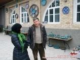 В гостях у мастера Алишера Назирова. Риштан, Узбекистан