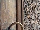 Резная дверь. Коканд, Узбекистан