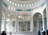 Mosque Hazrat Sultan. Nur-Sultan, Kazakhstan