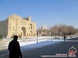 Conjunto Nodir Divan Begi (s.XVII). Bujará, Uzbekistán