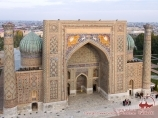 Медресе Шердор (Площадь Регистан). Самарканд, Узбекистан