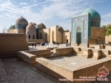 Комплекс Шахи Зинда. Самарканд, Узбекистан