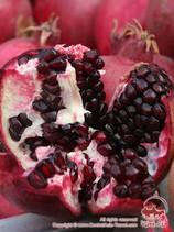 Гранат. Осенние фрукты Узбекистана