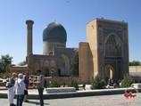 Мавзолей Гур-Эмир (усыпальница Амира Тимура XV в.). Самарканд, Узбекистан