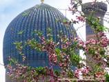 Купол мавзолея Гур-Эмир (усыпальница Амира Тимура XV в.). Самарканд, Узбекистан