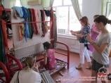 """Fabrique de tapis """"Khoudjoum"""". Asie Centrale, Ouzbékistan"""