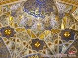 Мукарнас - сотовый свод. Медресе Тилля-Кари (XVII в). Узбекистан, Самарканд